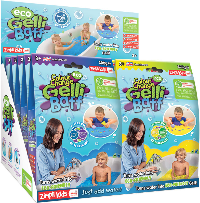 Wholesalers of Eco Colour Change Gelli Baff - 300g toys