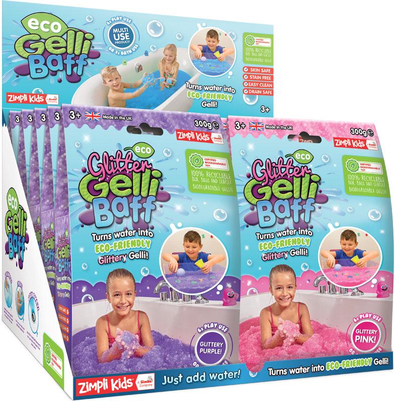 Wholesalers of Eco Glitter Gelli Baff - 300g Pink & Purple toys