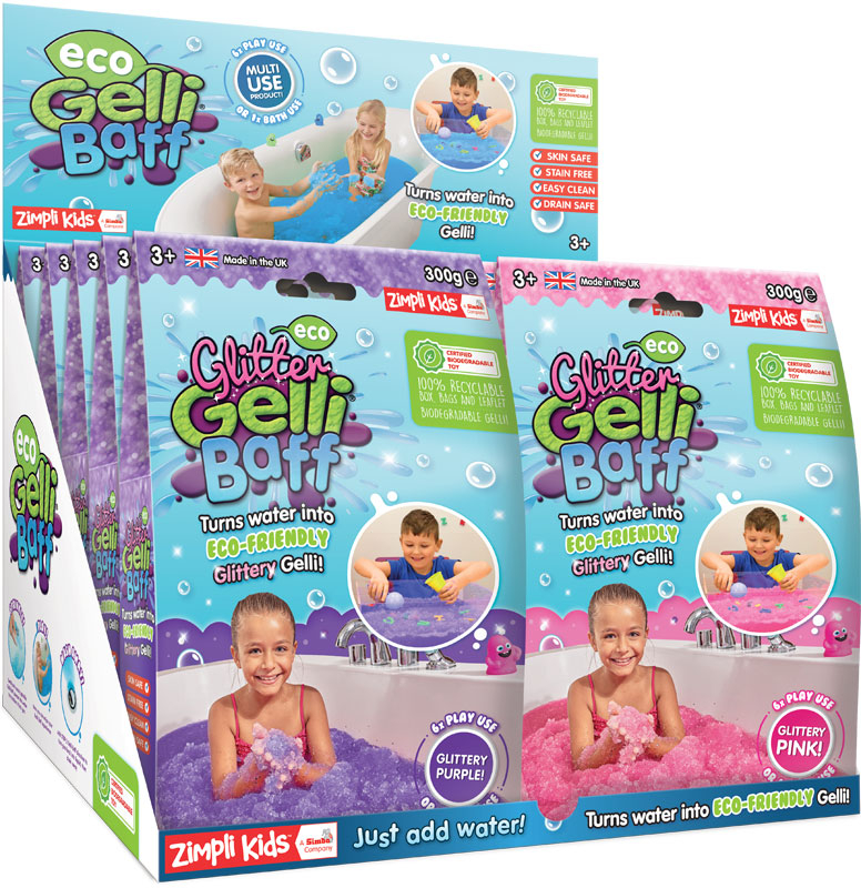 Wholesalers of Eco Glitter Slime Baff - 300g Mixed Colours toys