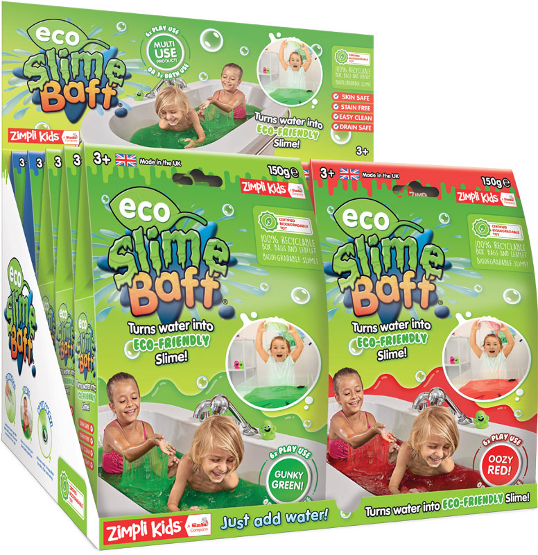 Wholesalers of Eco Slime Baff - 150g Mixed Colours toys