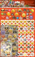 Wholesalers of Emoji Mega Sticker Pack toys image