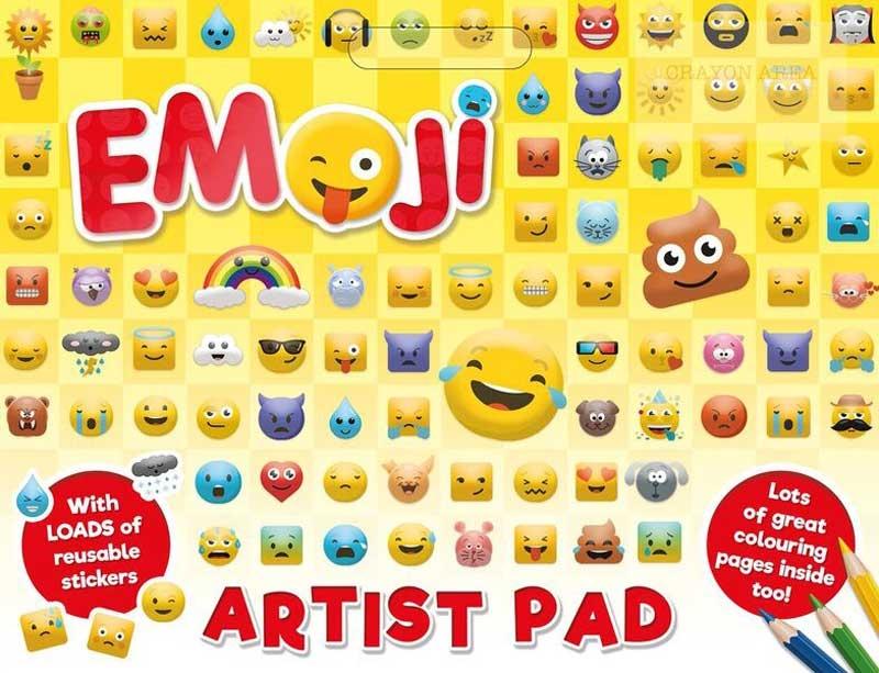 Wholesalers of Emoji Artist Pad toys