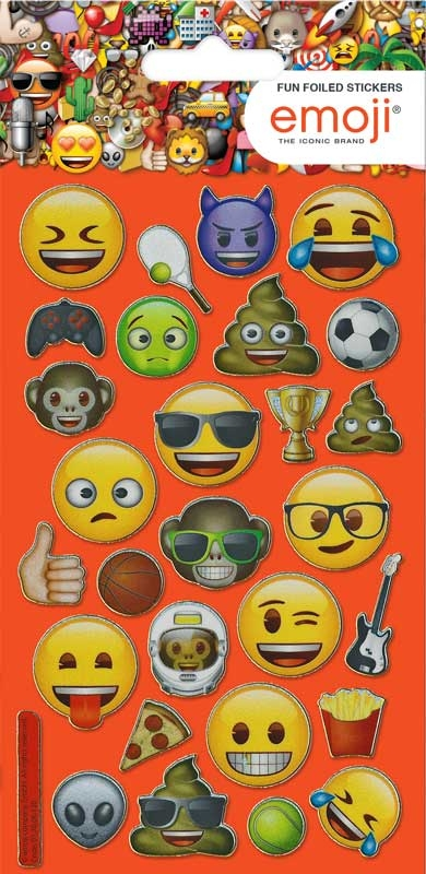 Wholesalers of Emoji Boy Stickers toys