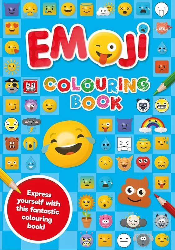 Wholesalers of Emoji Colouring Book Blue toys