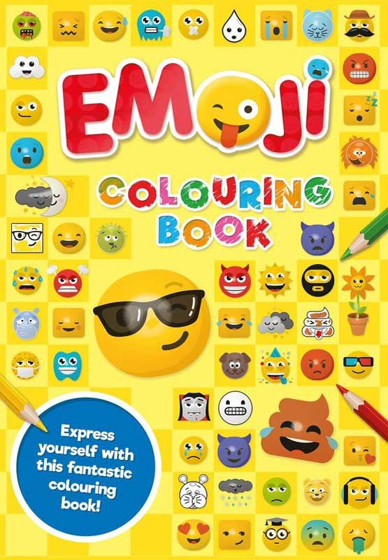 Wholesalers of Emoji Colouring Book Yellow toys