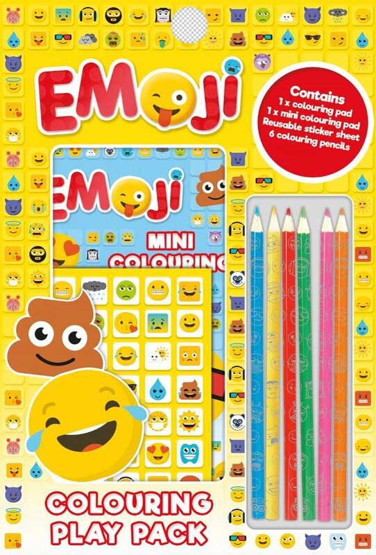 Wholesalers of Emoji Colouring Play Pack toys
