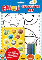 Wholesalers of Emoji Colouring Set toys image