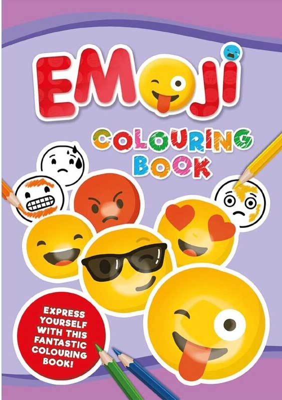 Wholesalers of Emoji Jumbo Colouring Book toys