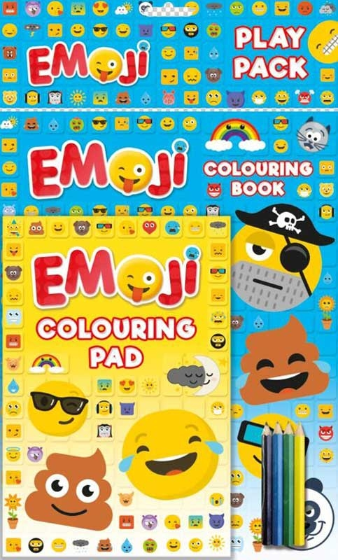 Wholesalers of Emoji Play Pack toys