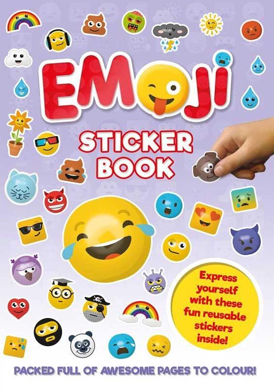 Wholesalers of Emoji Sticker Book toys