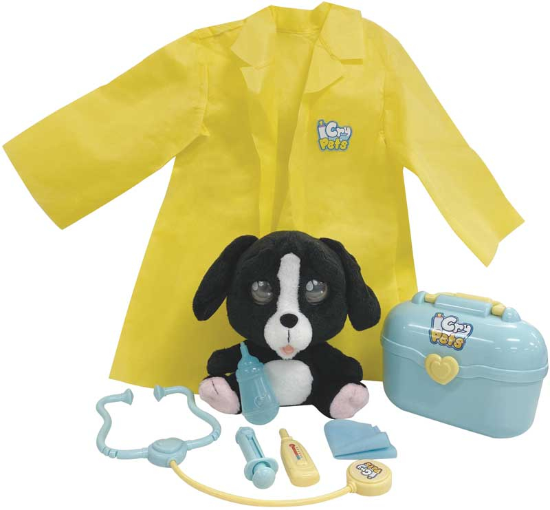 Wholesalers of Emotion Pets - Cry Pets - Vet Set Deluxe toys