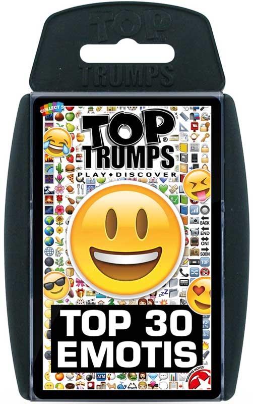 Wholesalers of Top Trumps - Emotis Top 30 toys