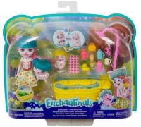 Wholesalers of Enchantimals Bathtime Splash Playset With Petya Pig Doll & S toys image