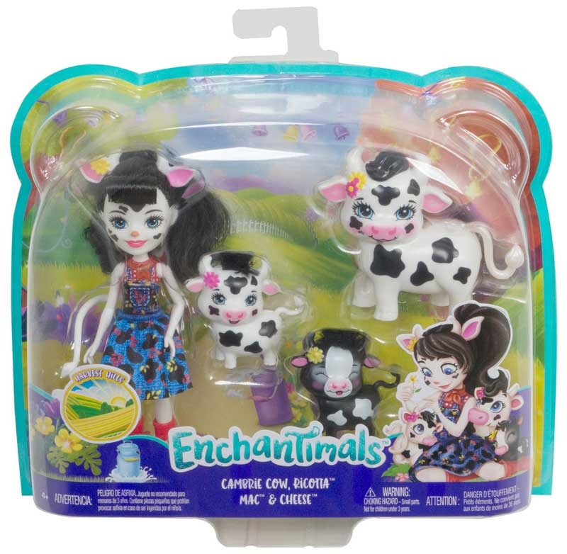 Wholesalers of Enchantimals Cambrie Cow With Ricotta & Family toys