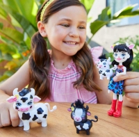Wholesalers of Enchantimals Cambrie Cow With Ricotta & Family toys image 2
