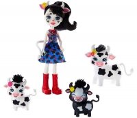 Wholesalers of Enchantimals Cambrie Cow With Ricotta & Family toys image 3