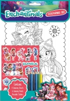 Wholesalers of Enchantimals Colouring Set toys image