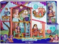 Wholesalers of Enchantimals Cozy Deer House Playset + Danessa Deer And Spri toys image