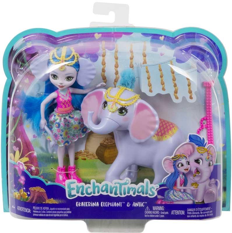 Wholesalers of Enchantimals Ekaterina Elephant toys