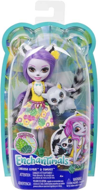 Wholesalers of Enchantimals Larissa Lemur & Ringlet Dolls toys