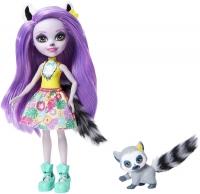 Wholesalers of Enchantimals Larissa Lemur & Ringlet Dolls toys image 2