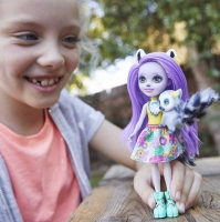 Wholesalers of Enchantimals Larissa Lemur & Ringlet Dolls toys image 3