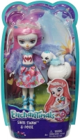Wholesalers of Enchantimals Saffi Swan And Poise toys image