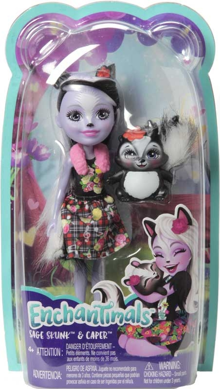 Wholesalers of Enchantimals Sage Skunk And Caper toys