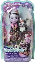 Wholesalers of Enchantimals Sage Skunk And Caper toys Tmb