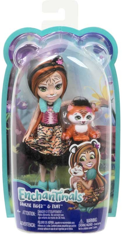 Wholesalers of Enchantimals Tanzie Tiger And Tuft toys