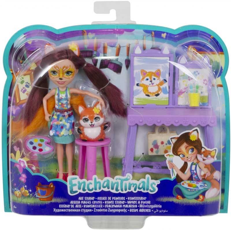 Wholesalers of Enchantimals Themed Pack - Fox Art Set toys
