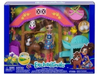 Wholesalers of Enchatimals Barnyard Nursery Playset With Haydie Horse Doll  toys image