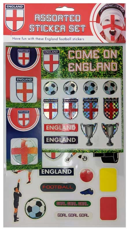Wholesalers of England Football Stickers toys