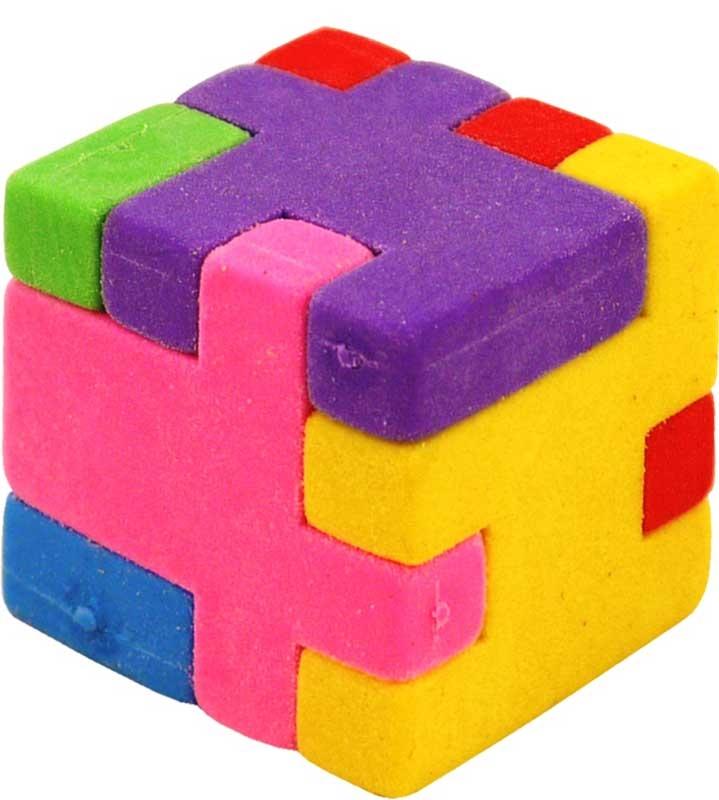 Wholesalers of Eraser Cube 2.7cm toys