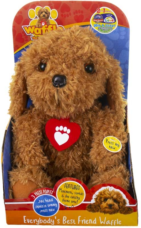 Wholesalers of Everybodys Best Friend Waffle The Wonder Dog toys