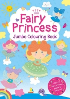 Wholesalers of Fairy Princess Jumbo Colouring Book toys image