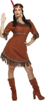 Wholesalers of Fancy Dress Adult American Indian Woman toys image