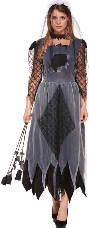 Wholesalers of Fancy Dress Adult Corpse Bride Women toys
