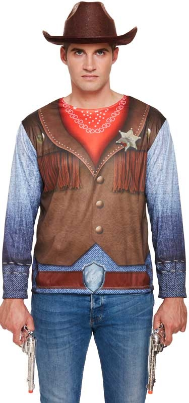 Wholesalers of Fancy Dress Adult Cowboy Shirt toys