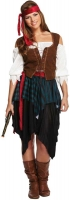 Wholesalers of Fancy Dress Adult Pirate Caribbean Lady toys image