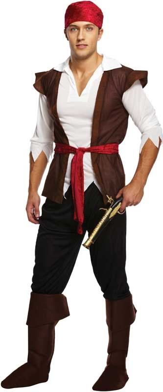 Wholesalers of Fancy Dress Adult Pirate Caribbean Man toys