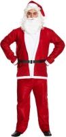 Wholesalers of Fancy Dress Adult Santa Suit 5 Pce toys image