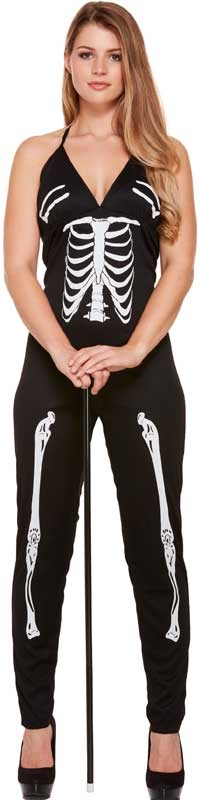 Wholesalers of Fancy Dress Adult Skeleton Suit Female toys
