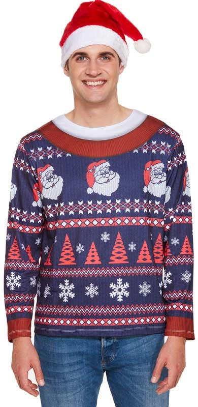 Wholesalers of Fancy Dress Adult Xmas Jumper Shirt toys