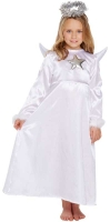 Wholesalers of Fancy Dress Child Angel With Fur Medium 7-9 Yrs toys image