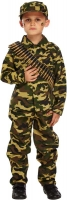 Wholesalers of Fancy Dress Child Army Boy Large 10-12 Yrs toys image