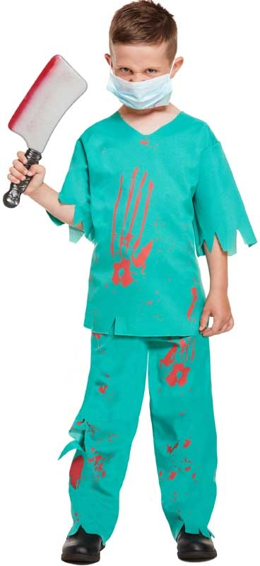 Wholesalers of Fancy Dress Child Bloody Doctor Large 10-12 Yrs toys