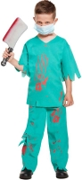 Wholesalers of Fancy Dress Child Bloody Doctor Large 10-12 Yrs toys image