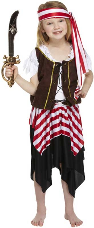 Wholesalers of Fancy Dress Child Buccaneer Pirate Large 10-12 Yrs toys