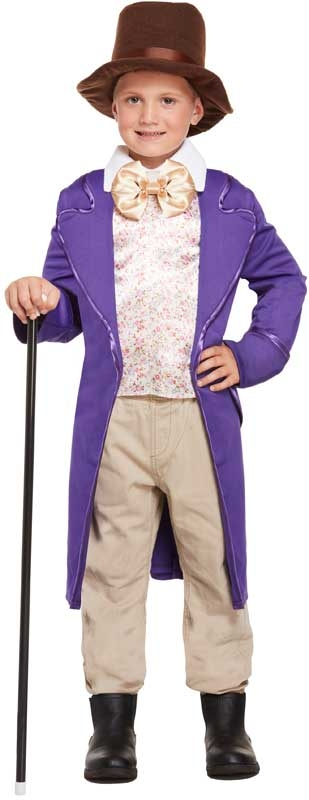 Wholesalers of Fancy Dress Child Chocolate Factory Med 7-9 Yrs toys